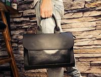 Мужская кожаная сумка. Модель 61341, фото 2