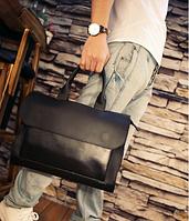 Мужская кожаная сумка. Модель 61341, фото 6