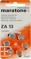 Батарейка для слуховых аппаратов, Renata ZA 13