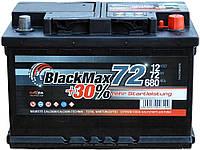 Автомобильный аккумулятор BlackMax 6СТ-72