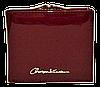 Женский лаковый кошелек BАLISА бордового цвета из кожзама WLP-069848