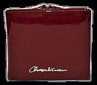 Женский лаковый кошелек BАLISА бордового цвета из кожзама WLP-069848, фото 1
