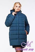 Зимняя женская куртка большого размера (р. 44-62) арт. Марелла