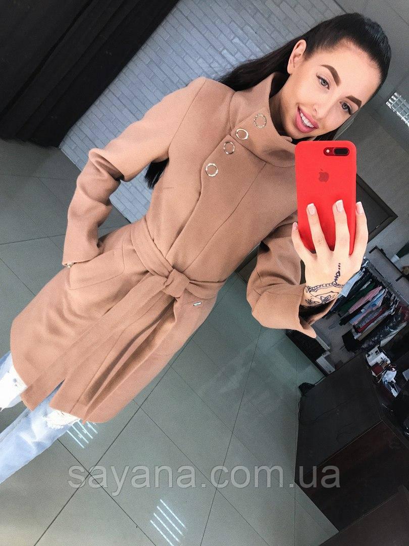 """Женское пальто """"ПАУЛА"""", в расцветках, р.р 42 по 52. Т-2-0817"""