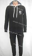Стильный мужской костюм Reebok черный