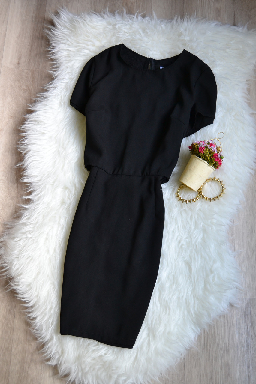 Короткое платье с кружевом на спинке Missguided