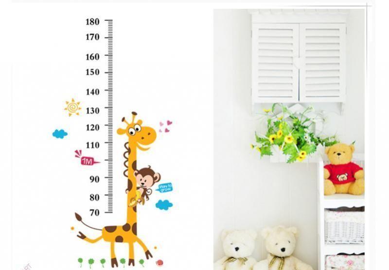 Ростомер детский на стену (ростометр)