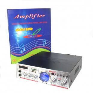 Аудио усилитель YT-K03 стерео усилитель звука в машину SD/USB/FM/Микрофон + пульт ДУ, фото 2