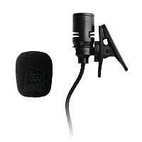 Петличный микрофон (петличка) Alen с тканевым шнуром.