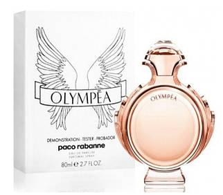 Paco Rabanne Olympia Aqua туалетная вода 80 ml. (Тестер Пако Рабан Олимпия Аква)