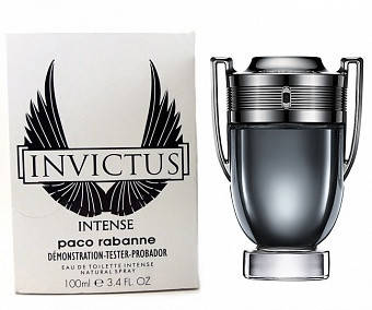 Paco Rabanne Invictus Intense туалетная вода 100 ml. (Тестер Пако Рабан Инвиктус Интенс), фото 2
