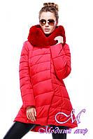 Женская зимняя куртка с большим мехом (р. 42-54) арт. Карима
