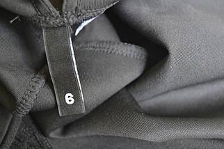 Черное короткое платье с кружевным топом H&M, фото 3