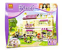 """Конструктор Bela Friends 10164 """"В гостях у Оливии"""" (аналог Lego 3315), 695 дет"""