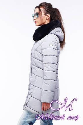 Стильная женская зимняя куртка (р. 42-54) арт. Карима, фото 2