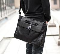 Мужская кожаная сумка. Модель 61346, фото 6