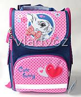 Школьный каркасный рюкзак Kite для девочек кролик Bunny