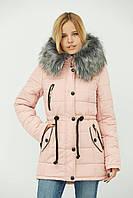 Женская зимняя стеганная куртка от Украинского производителя