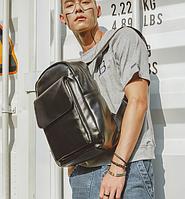 Мужской кожаный рюкзак. Модель 61348, фото 6