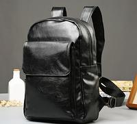 Мужской кожаный рюкзак. Модель 61348, фото 7