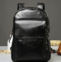 Мужской кожаный рюкзак. Модель 61348, фото 8