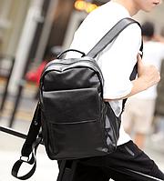 Мужской кожаный рюкзак. Модель 61348, фото 3