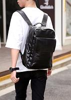 Мужской кожаный рюкзак. Модель 61348, фото 4