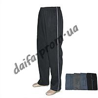 Мужские теплые трикотажные брюки БАТАЛ с начесом 8891 оптом со склада в Одессе(7км.)