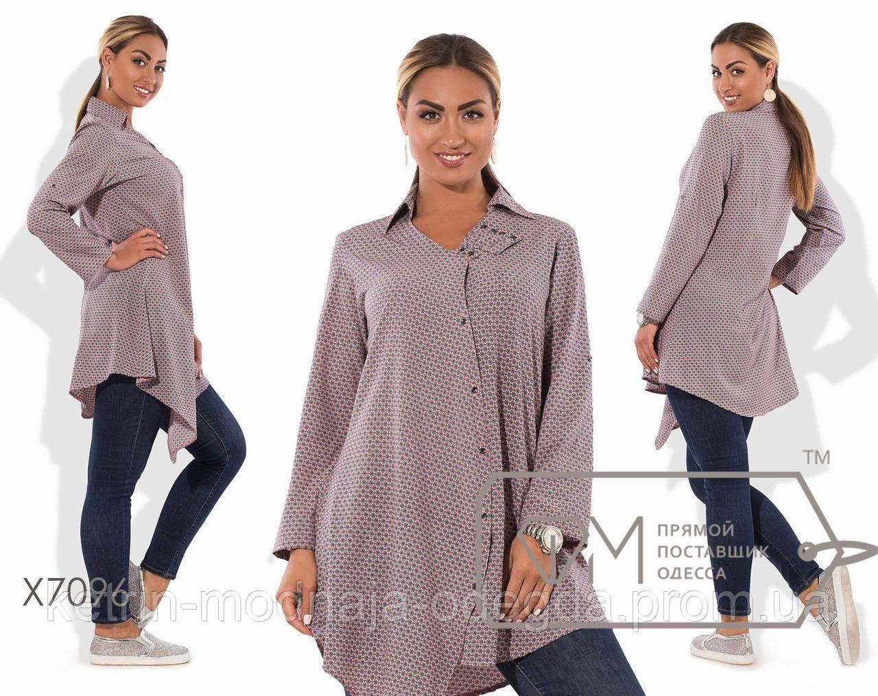 a41db17de128 Модная женская удлиненная рубашка туника большого размера 48, 50: продажа,  цена в ...
