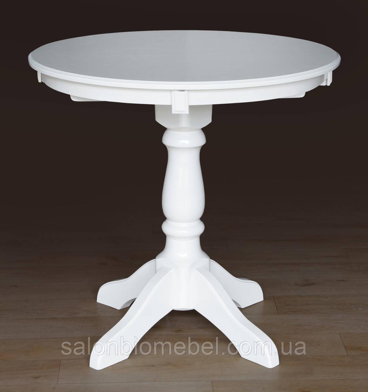 Стол обеденный Чумак белый