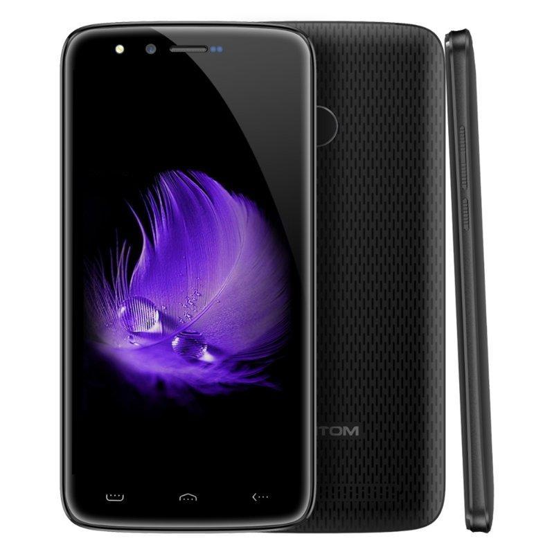 "Смартфон Homtom HT50 3/32Gb Gray, 8/8Мп, 5500мАh, 5.5"" IPS, 2SIM, 4 ядра, 4G, Android 7.0"