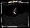 Женский лаковый кошелек BАLISА черного цвета из кожзама WLP-069892