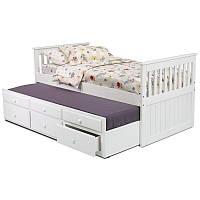 Напольная раздвижная кровать с дополнительным спальным местом