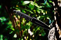 Нож метательный Копьё (Black) 6807