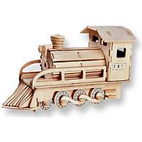 3D пазл поезд (2 большие доски)