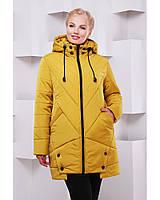 Женское зимняя куртка в 6ти цветах с искуственным мехом ML-082