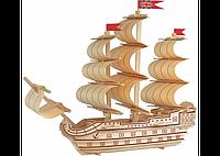 3D пазл корабль 2 (5 досок)