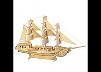 3D пазл корабль (4 досок)