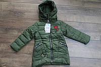 Демисезонное пальто на синтепоне. 6 лет