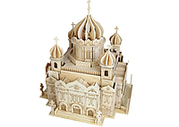 3D пазл собор (10 досок)