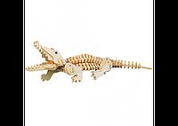 3D пазл крокодил (2 маленькие доски)