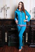 Пижама женская  голубая