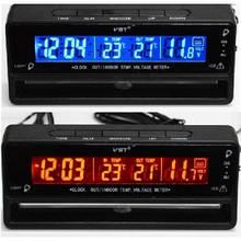 Автомобильный термометр - вольтметр часы VST 7010V