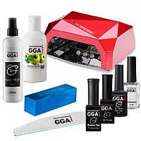 Стартовый набор Gga Professional  для гель-лаков и геля  на 36W