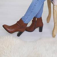 Ботинки кожаные  т1090