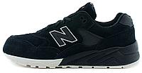 """Женские кроссовки New Balance MRT580 BR Tonal Pack """"Black"""" (Нью Баланс) черные"""