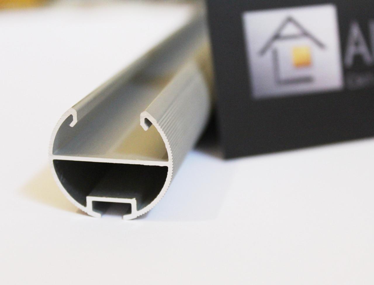 Светодиодный алюминиевый LED профиль BLL.1005 анодированный серебро (для светодиодных лент)
