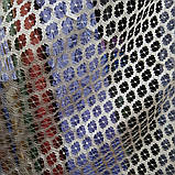 Тюль сетка оптом и метражом от 1 м. Высота 2.8 м., фото 5