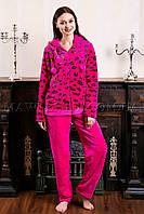 Пижама женская Leopard малинка