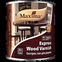 Экспресс лак для дерева Maxima, полуматовый 2,5 л